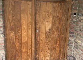 Buitendeur in hout op maat